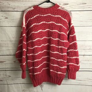 Vintage Handcrafted Chunky Knit Sweater